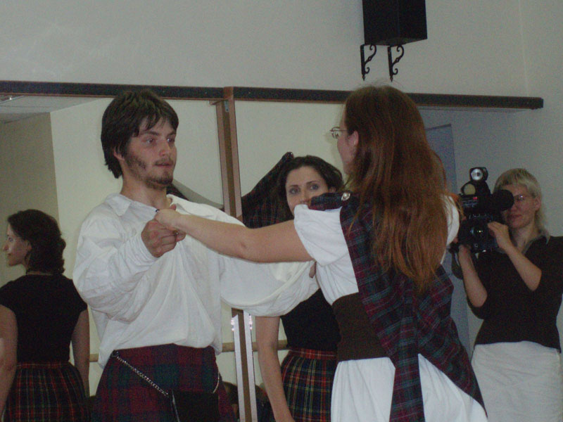 Scottish Party at Baila Me