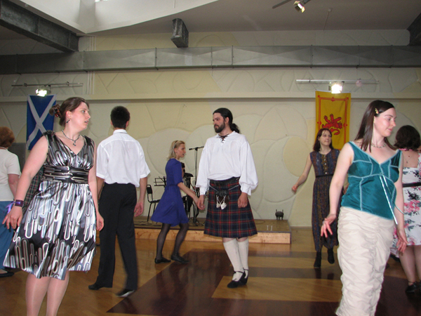 Moscow Scottish Ball of the Moscow School of Scottish Dance