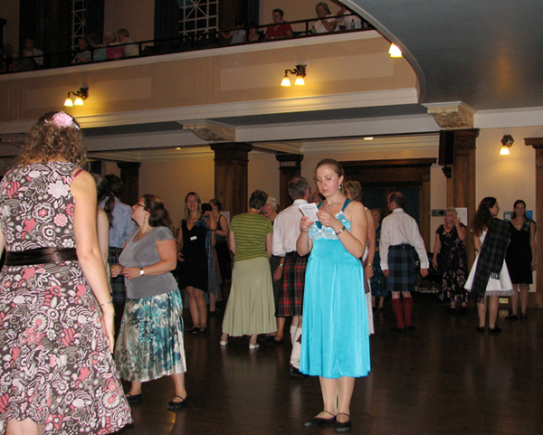 Iryna Zhurakovska at the Thursday Ball at the Younger Hall