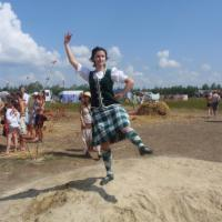 Sandy highland dancing