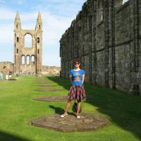 St Andrews Cathedral - Summer School 2014