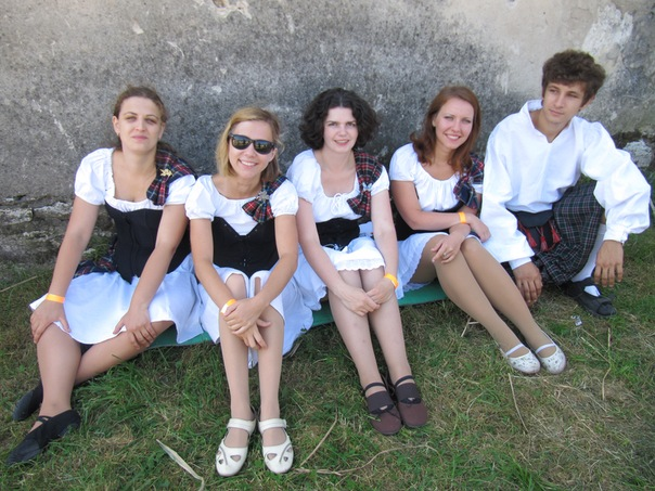"Lugnasad team at ""Ancient Medzhybizh 2011"" festival"